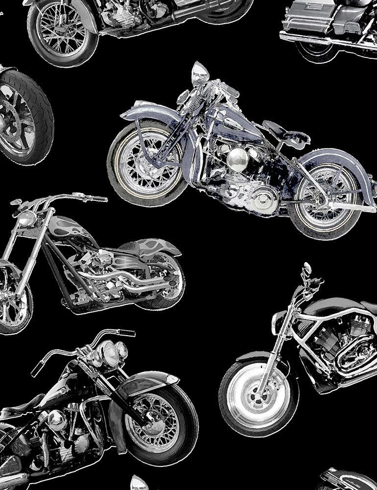 *Motorcycles (Black)