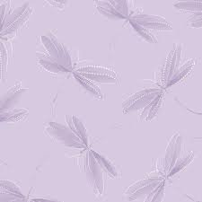 Essence of Pearl - Dragonfly Silhouette (Lilac/Metallic)