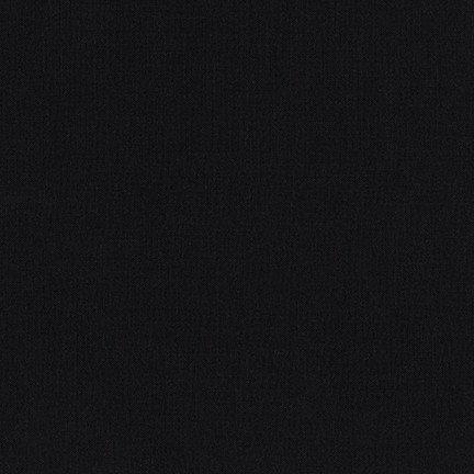 Kona Cotton - Premium 60 (Jet Black)