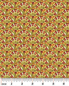 Byzantium - Constatine (Red/Multi)