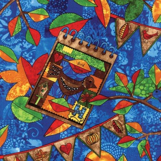 Autumn Is For Birds (Bluebird) - DIGITAL PRINT