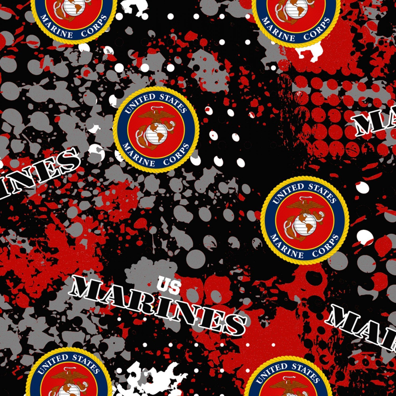 Military Prints - Marines Abstract Geo Logo