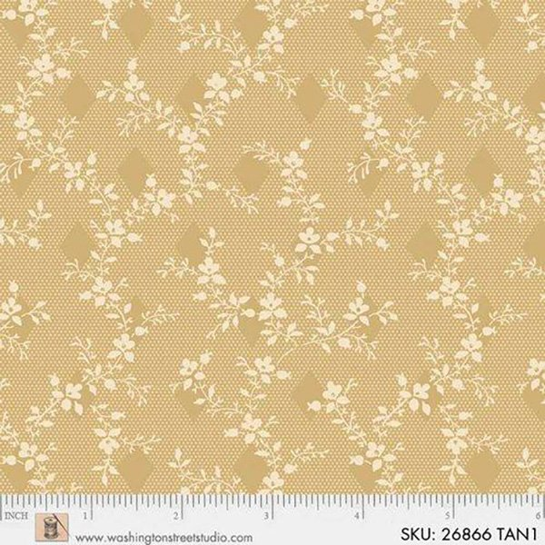 King Quilts Wide Backs - Vine (Tan)