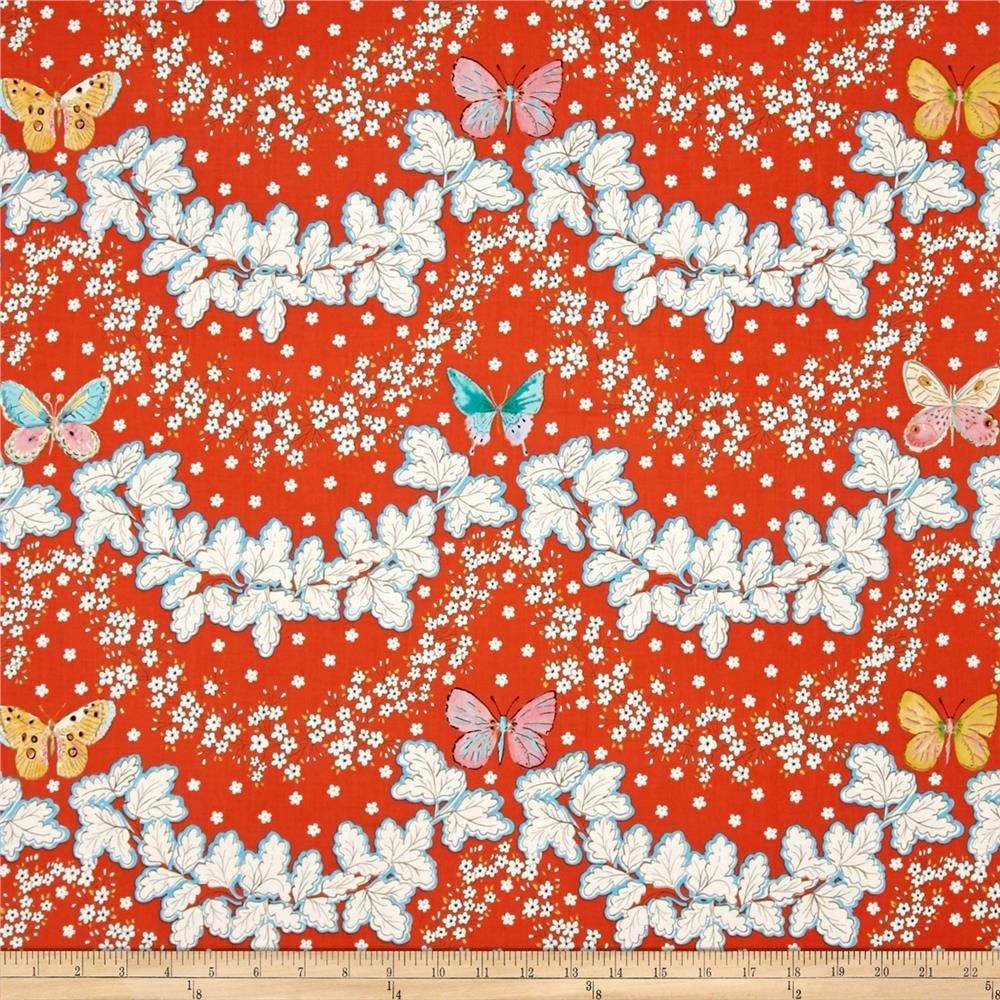 Butterfly Garden (PWDF225.RED)