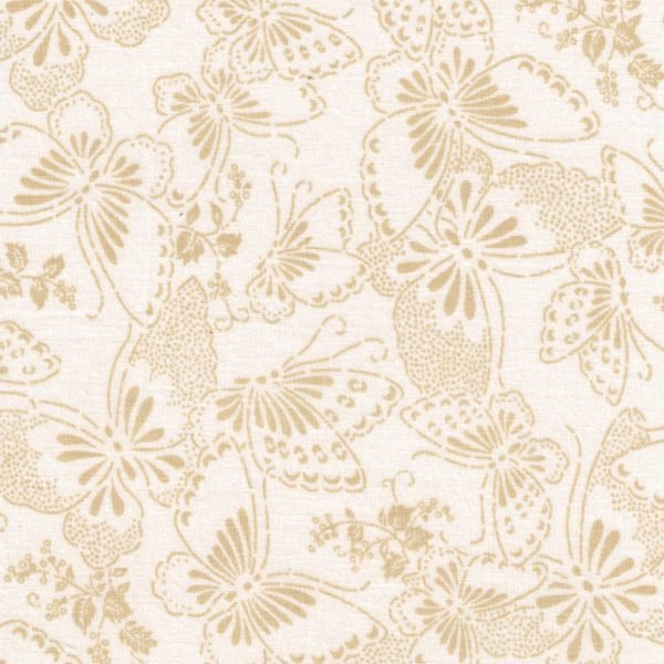 Butterflies 108 Backing (Beige/Tan)