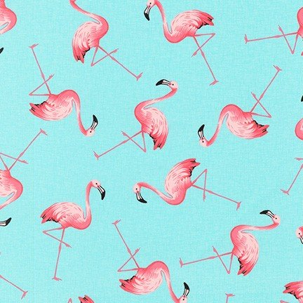 Animal Club - Flamingos (Sky)