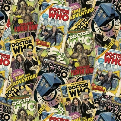 Doctor Who - Comic Book Toss