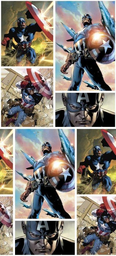 Captain America - DIGITAL PRINT