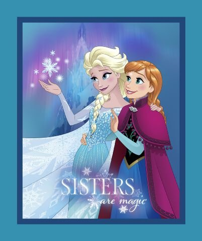 Frozen 36 Panel - Sisters are Magic