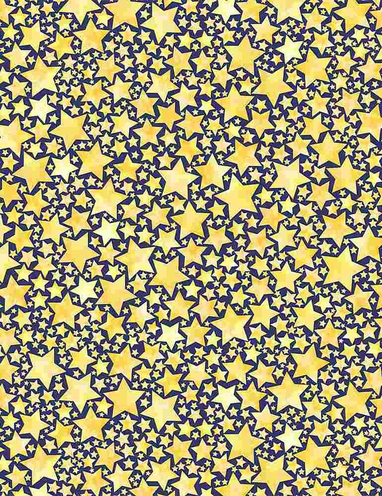 *Packed Stars (Yellow)