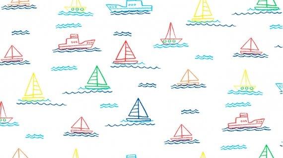 Sailing (White)