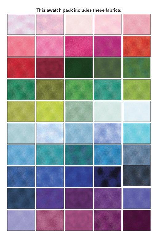 Shadow Blush - 50 Pieces (2 1/2 Strips)
