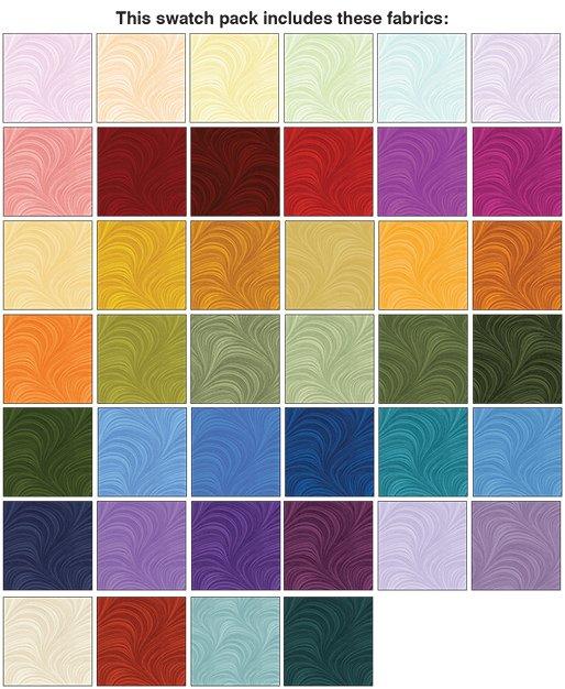Wave Texture - 40 Pieces (2 1/2 Strips)