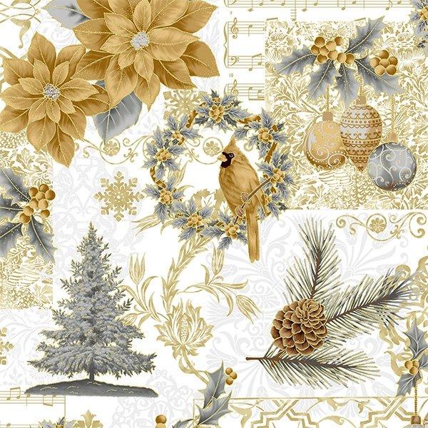 Joyful Traditions (Gold/Gold)