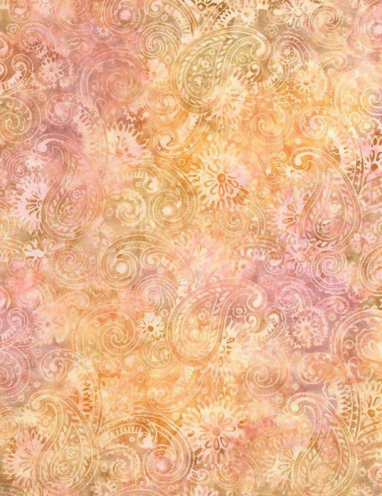 Tonga Batiks - Flourish Paisley (Horizon)