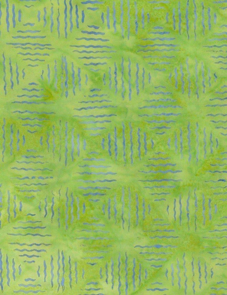 Tonga Batiks - Vibrations (Lime)