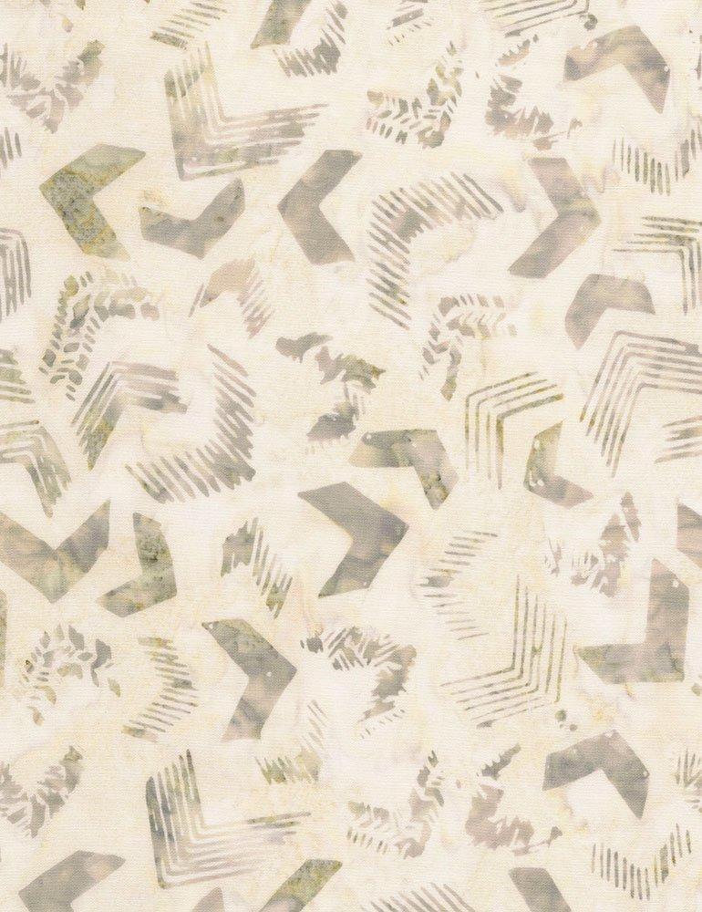 Tonga Batiks - Linen (Fossil)