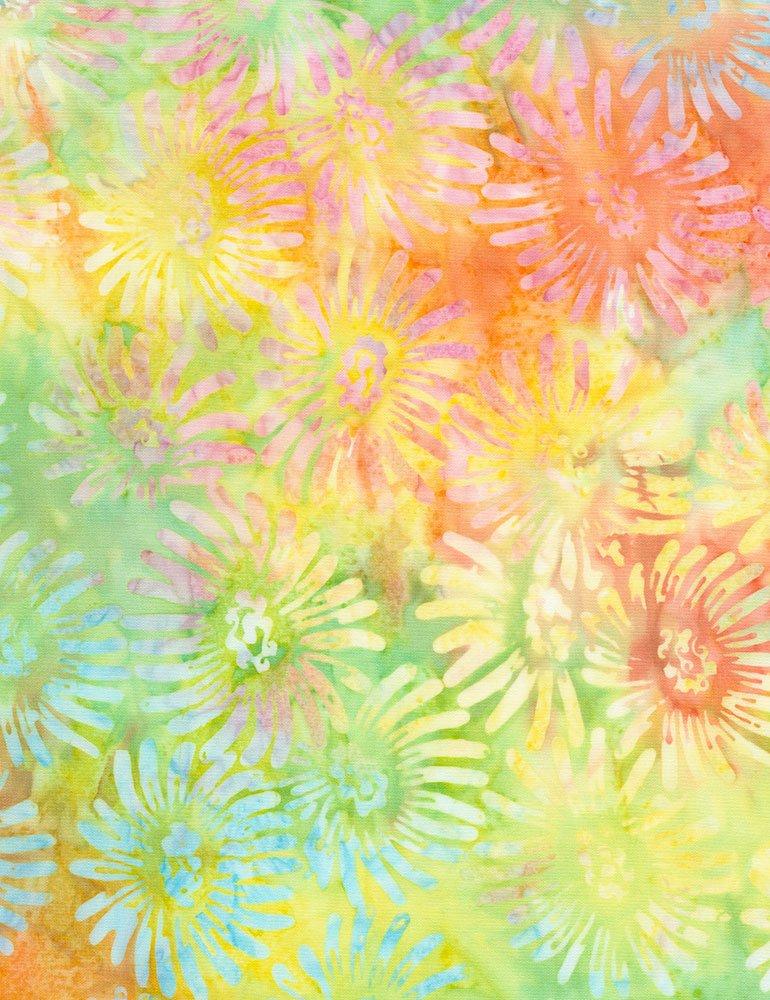 Tonga Batiks - Daisy (Meadow)