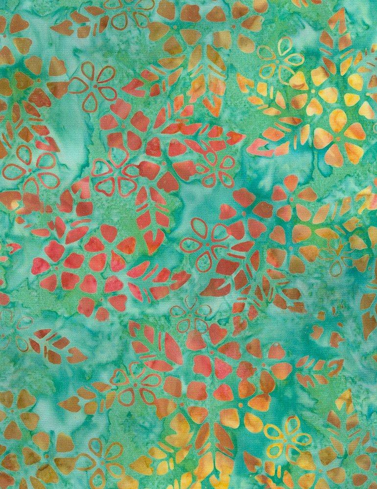 Tonga Batiks - Bloom (Parrot)