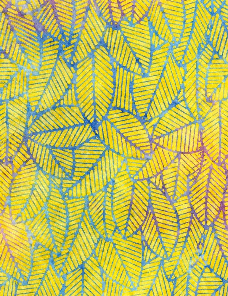 Tonga Batiks - Amazon (Citron)