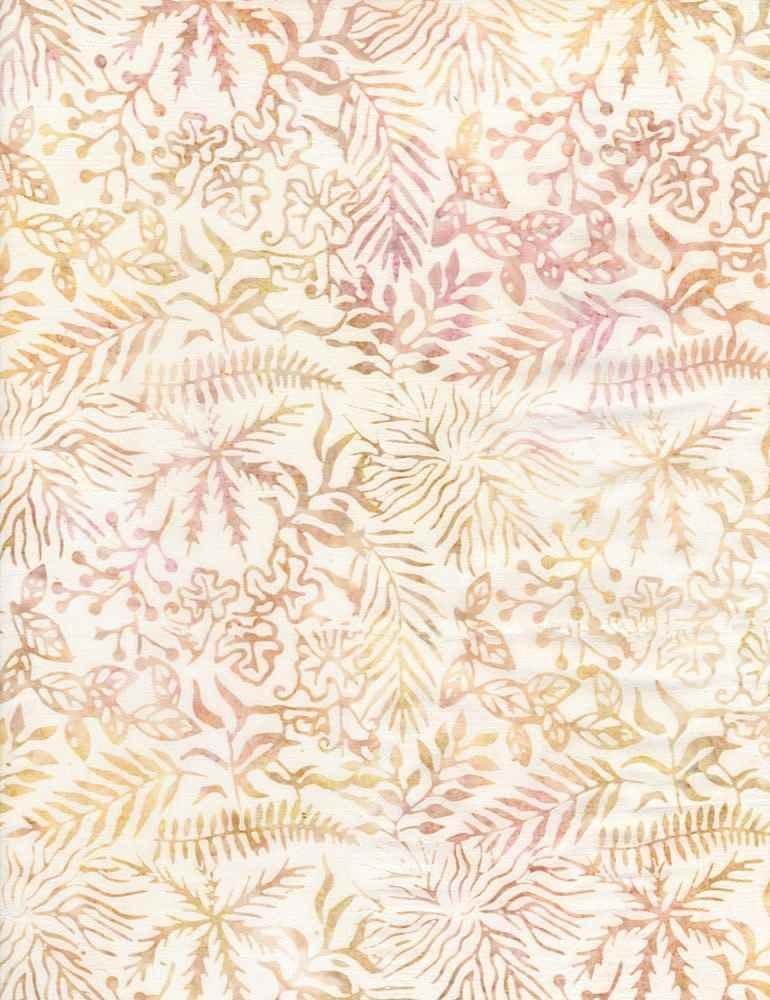 Tonga Batiks - Assorted Leaves (Antique)