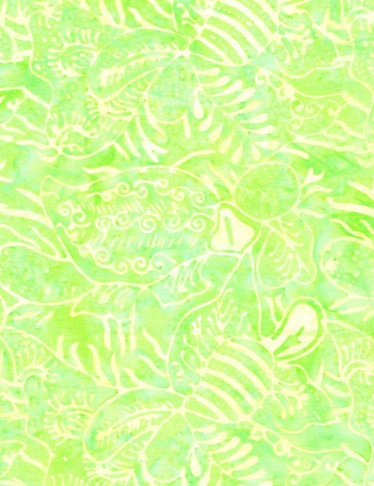 Tonga Batiks - Dandy Florals (Dew)