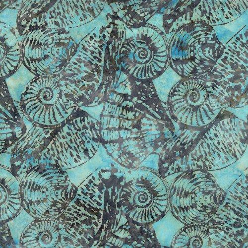 Tonga Batiks - Snails (Shore)