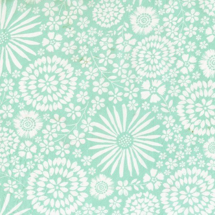 108 Wide - Flora Pop (Aqua)
