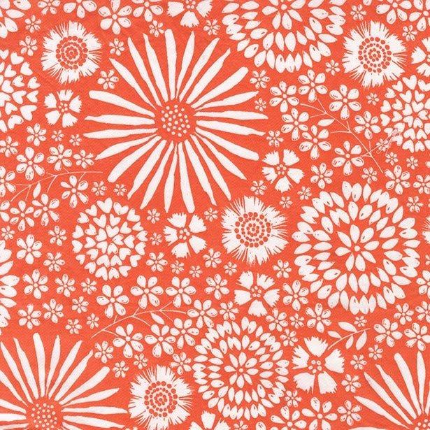 108 Wide - Flora Pop (Coral)