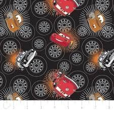 Disney Pixar Cars - Wheels (Black)