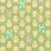 Chinoise - Birdcages (Olive)
