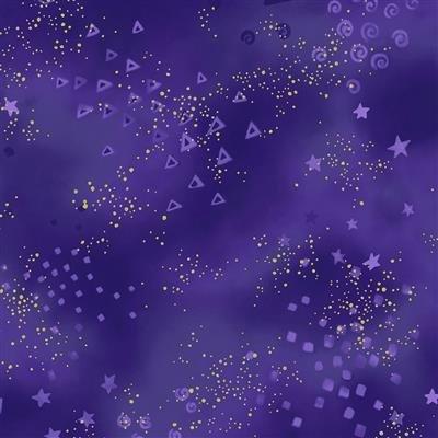 LB Basic Glitter - Metallic (Dk. Purple)