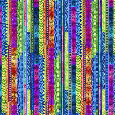 Celestial Magic Metallic - Stripe (Multi)
