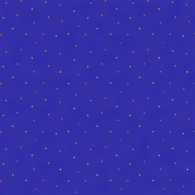 Celestial Magic Metallic - Dots (Dk. Royal Blue)