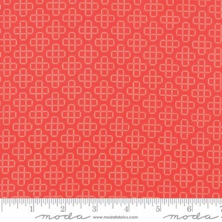 37545 14 The Front Porch Pomegranate MODA