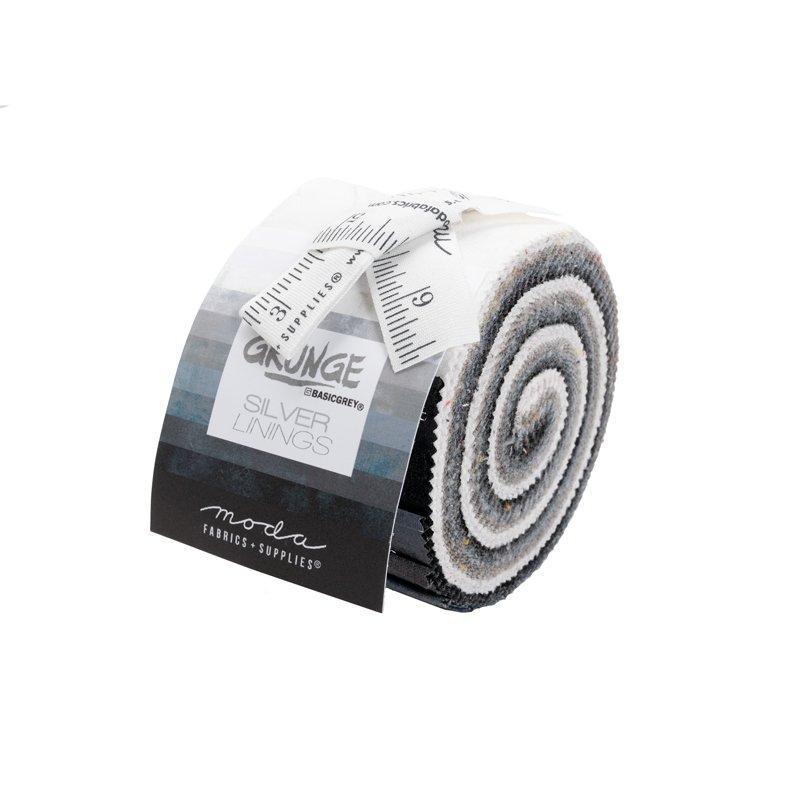 30150JJRSL Grunge Junior Jelly Roll Silver Linings Moda