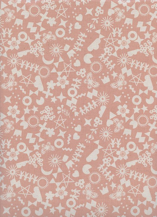 Paper Cuts - Cut it Out Peachy 1968 Cotton + Steel