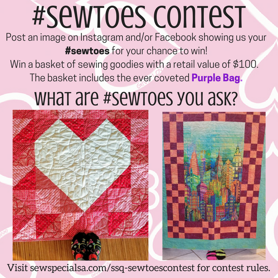 Sew Toes Contest