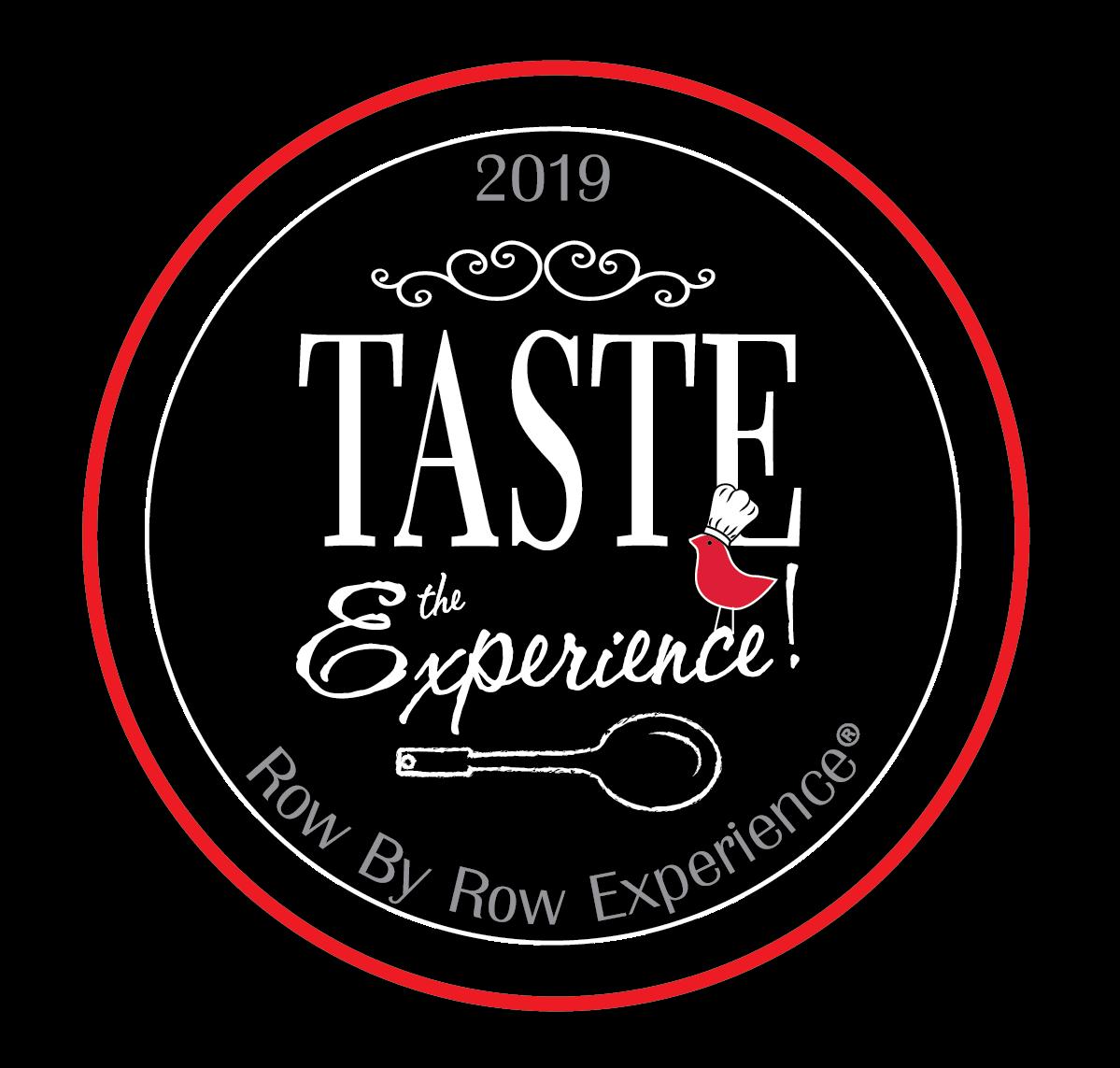 Taste the Experience Row by Row Logo