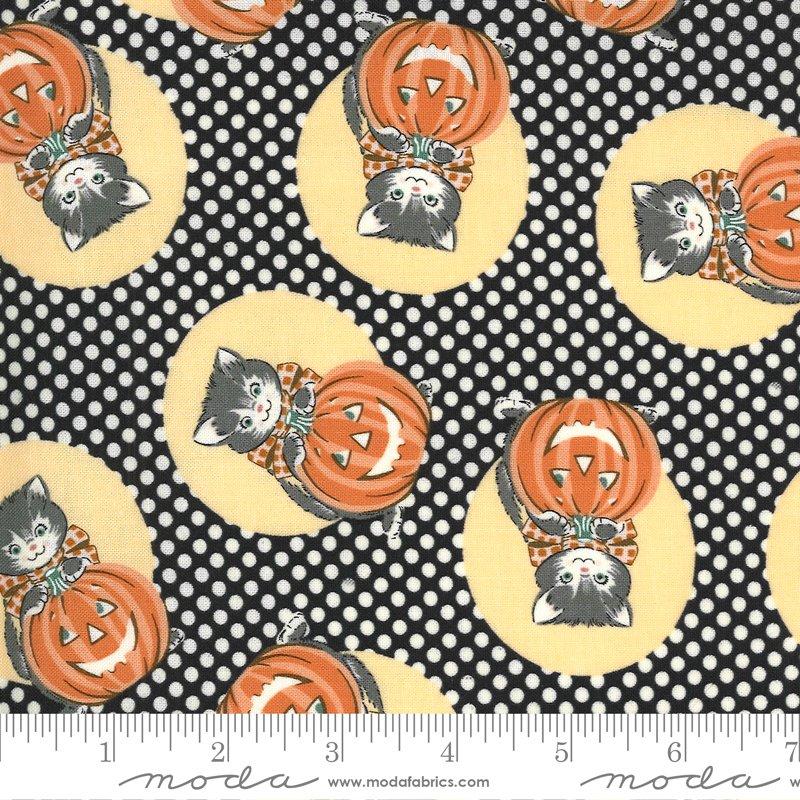 31171 17 Black Midnight Kitty Corn Urban Chiks Moda