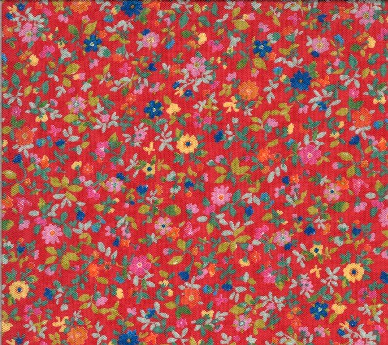33584 14 Geranium Packed Floral Lulu Chez Moi Moda