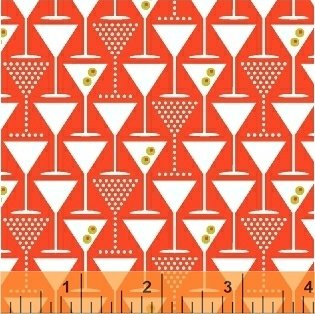 42446 1 Ceyenne Martini Glasses Windham Fabrics