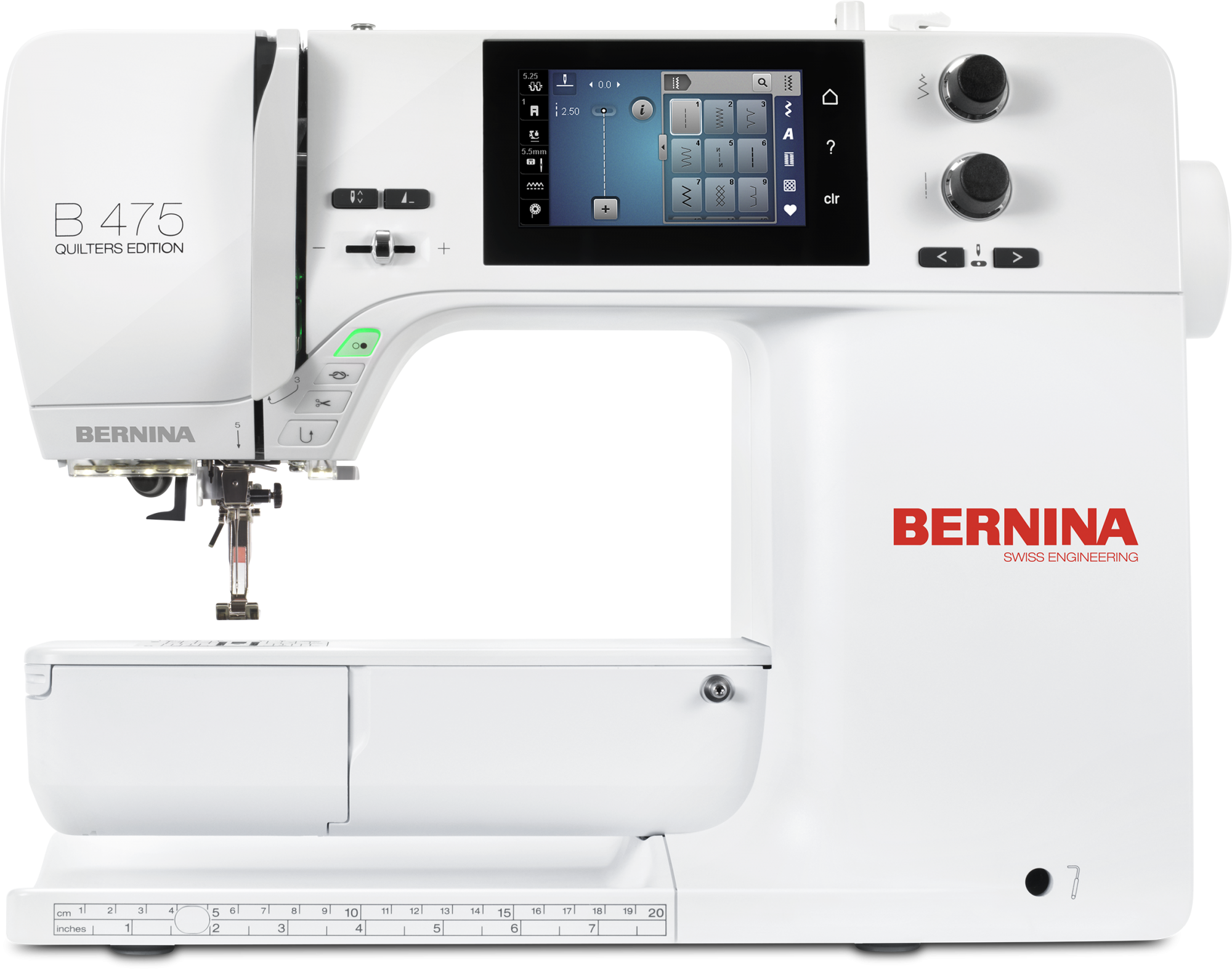 BERNINA 475 QUILTERS EDITION