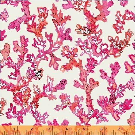 50868-7 Coral Curio Windham Fabrics