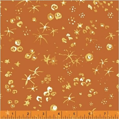 50869-11 Russet Tiny Wonders Curio Windham Fabrics