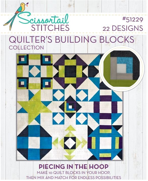 51229CD Quilter's Building Blocks Collection