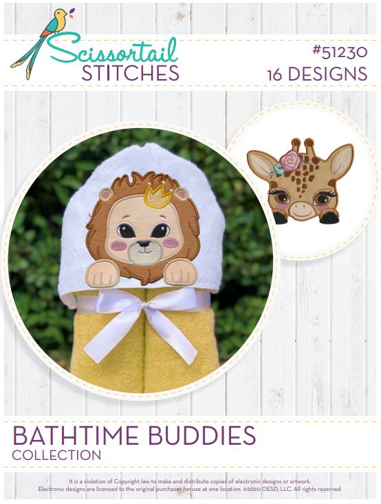 51230CD Bathtime Buddies Collection