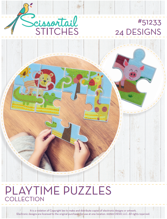 51233CD Playtime Puzzles Collection