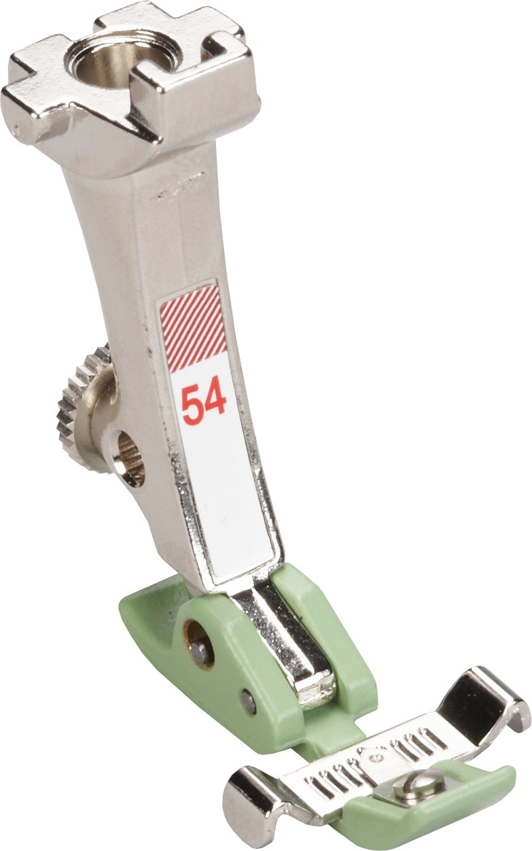 #54 Zipper Foot with Non-Stick Sole ( Teflon Sole ) BERNINA