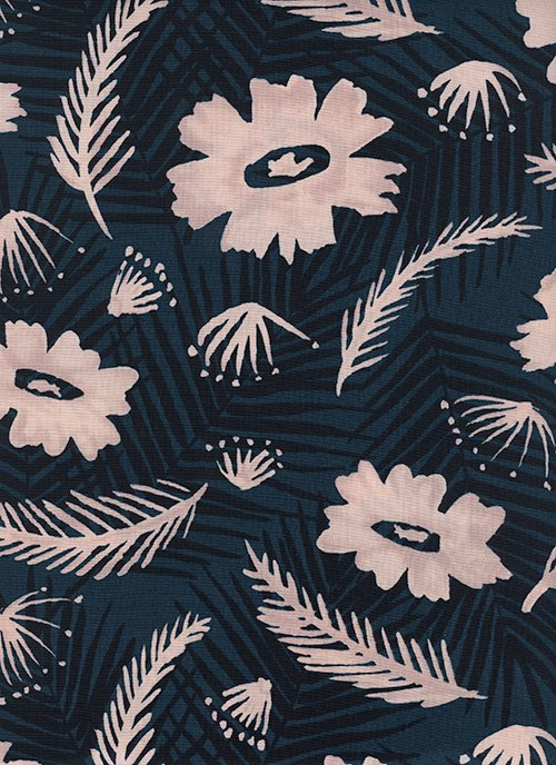 C6018-025 Poolside RAYON Palm Springs Bouquet Cotton + Steel